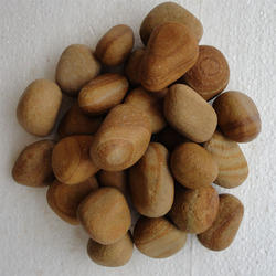 Golden Teak Pebble