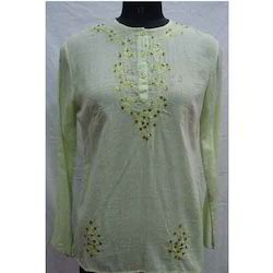 Fashion Chikan Kurta (Green)