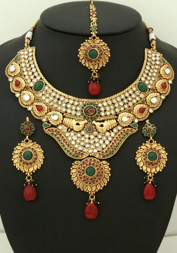 Necklace Set Fancy Necklace Set Manufacturer From Mumbai