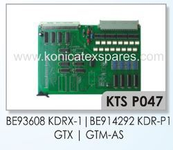 PICANOL BE93608 KDRX-1, BE914292 KDR-P1