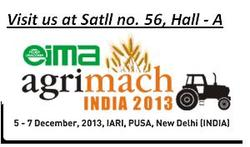 Invitation for EIMA AGRIMACH INDIA 2013