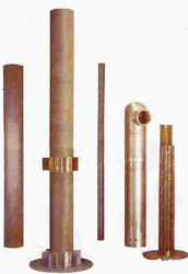 Air Injection Tube, c B Pipe, Coal Throw Pipe