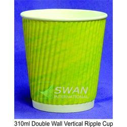 Triple Wall Printed Vertical Ripple Cup