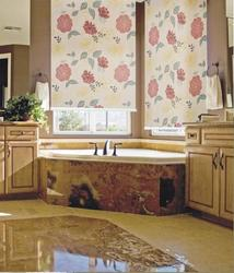 Roller Blinds with Printed Fabric
