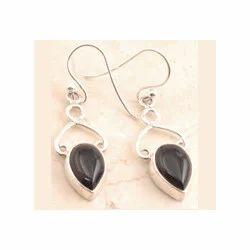 Cocktail Black Onyx Earrings