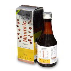 Iron Vitamins Zinc Syrup, Packaging Type: Plastic Bottle