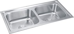 Double Bowl Modular Kitchen Sink