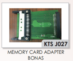 Bonas Jacquard  Memory Card Adapter