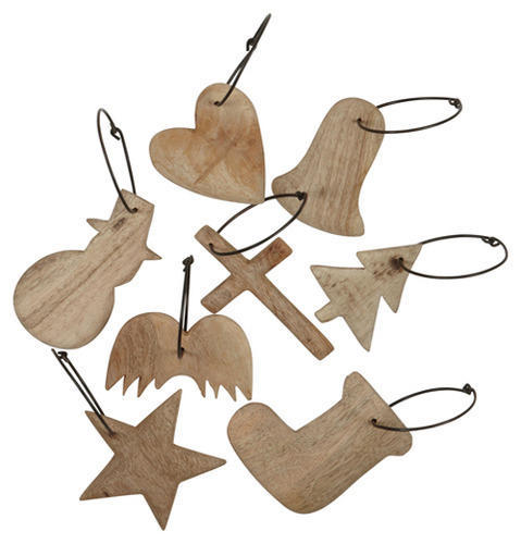 Wooden Ornaments लकड क गहन Bamboo And Wooden
