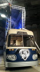 Aluminum Truss Fitted on Red Bull Tour Bus