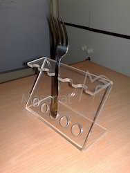 Acrylic - Fork & Spoon Holder