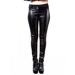 Ladies Leather Trousers