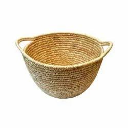 Palm Leaf Bucket