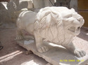 Marble Handicraft Lion Statue