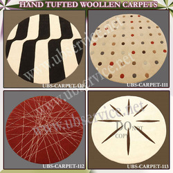 Hand Tufted Woolen Carpet
