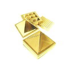 Brass Three Layer Pyramid