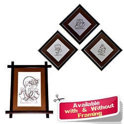 Copper Wire Art Ganesha Murals