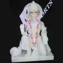 Mahavir Hanuman Marble Statue