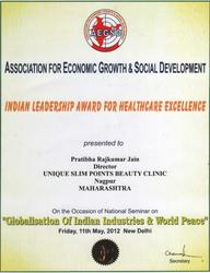 Indian Leadership Award for Healthcare Excellence
