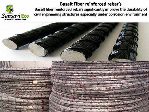 Basalt Fiber Reinforced Rebar - View Specifications