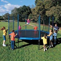 Safety Net Trampoline