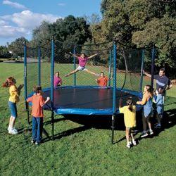 Safety Net Trampoline Amusement Ride Game