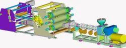 Design Plastic Sheet Extrusion Plant