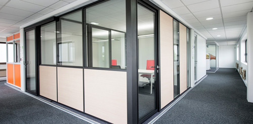 Interior Design Work In Coimbatore Aluminum Partition And