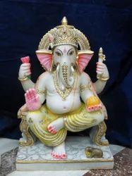 Lord Ganesh on Chowki