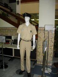 Police Uniform Dress Material