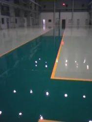 Epoxy Polyurethane Flooring Services, Corporate Building