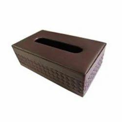 Brown Tissue Box