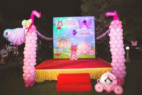 Stage Decor Princess Theme Birthday Party In R S Puram Coimbatore