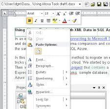 Microsoft Word A Tool For Documentation in Main Road 12-22