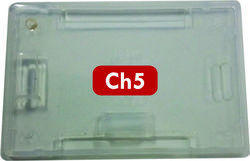 LC Plastic ID Card Holder CH 5