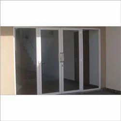 Designer Aluminium Doors Fitting Services
