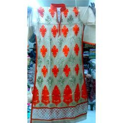 Unstitched Embroidered Suit