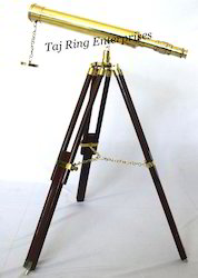 Single Barrel Telescope With Stand