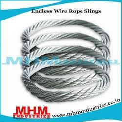 Endless Round Wire Rope Slings, Engineering And Shipping Ropes | MHM ...
