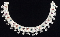 Heavy Silver Anklet