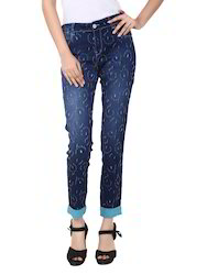 Classy Blue Skinny Fit Jeans