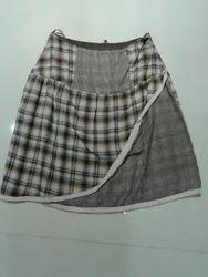 Short Checks Skirt