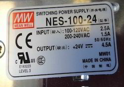Meanwell 24VDC Power Supply