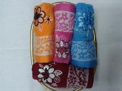 Embroidered Handkerchief Set Of 4
