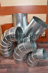 Round Ducting Pipe Bend
