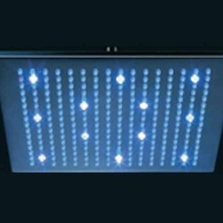 LED Rain Shower Dynamo Controlled