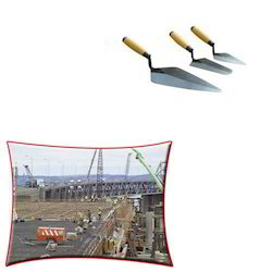 Gauging Trowel for Construction Industry