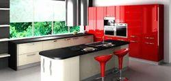 Island Shaped Kitchen Modular Kitchen