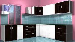 L-Shaped Kitchen Modular Kitchen
