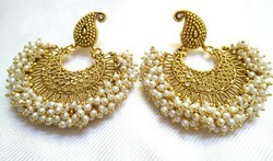 Golden Imitation Earrings